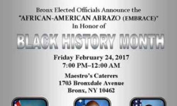 African American Abrazo (Embrace)  in New York