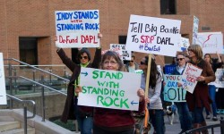 Today New Yorkers to rally to #DeFundDAPL & divest risky fossil fuels