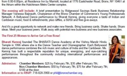 The Bronx Chamber of Commerce and Ridgewood Savings Bank Valentine Networking Party – February 9th