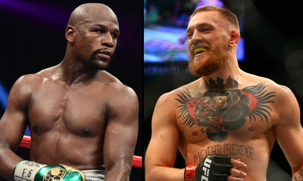 Conor McGregor responds to Floyd Mayweather's fight comments: 'I run boxing'. Photo Credit: USA TODAY Sports