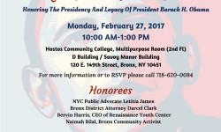 Congressman Serrano & Senator Serrano Invite You to a Black History Month Celebration