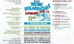 Bronx Polar Bears Orchard Beach Big Plunge, February 11