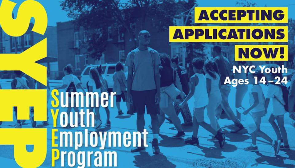 summer youth job applications available