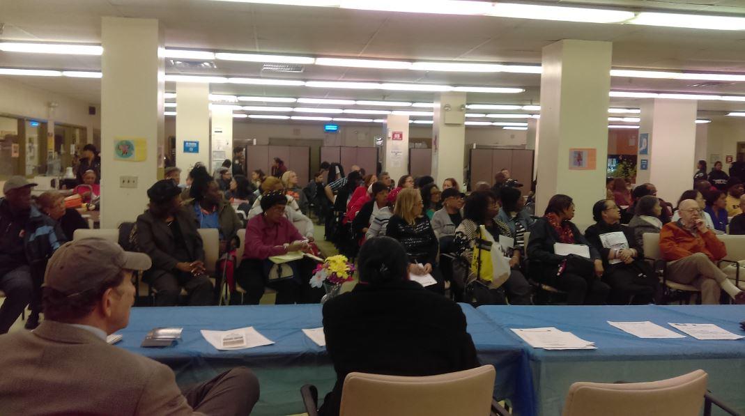 44th Precinct Council Meeting. Photo: Cary Goodman, 161st Street BID/MBSCC Inc.