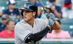 Greg Bird takes flight in Yankees spring training. Credit: m.mlb.com