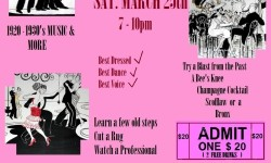 1920 Jazz Night at the Huntington Free Library – March 25th