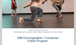 Jamaica Arts This April: EtM Choreographer + Composer