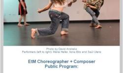 Jamaica Arts This April: EtM Choreographer + Composer