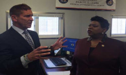 Bronx District Attorney Clark and Senator Klein Visit Rikers Island