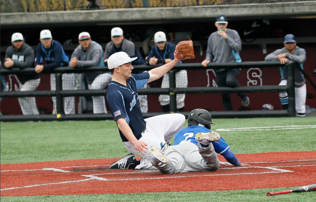 On The Diamond Lehman Falls Short To John Jay The Bronx Chronicle