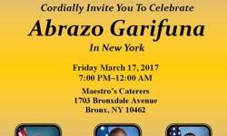 """Senator Ruben Diaz announce the celebration of the 7th """"Abrazo Garifuna in New York"""""""