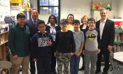Hevesi, Disability Rights Project Visit School to Raise Awareness of Homeless Children with Disabilities
