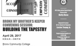 Join BP Diaz for My Brother's Keeper Convening Session, 4/29