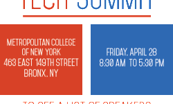 Bronx Tech Summit on April 28