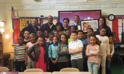 Longtime Bronx Educator Honored By CM Andy King & Fellow Former PS 41 Students From 1971 In Original Classroom