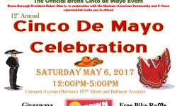You're Invited…Borough President's Cinco de Mayo event…..
