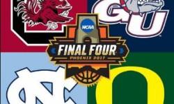North Carolina and Gonzaga win, will meet Monday in National Championship game