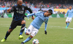 NYCFC beats San Jose 2-1 (Photo credit: Gary Quintal)