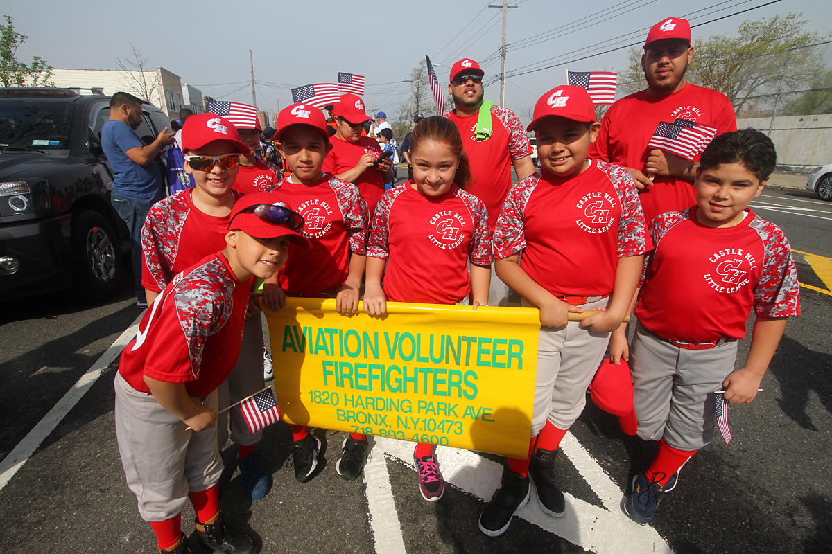 Credit: Castle Hill LL Parade/Gary Quintal