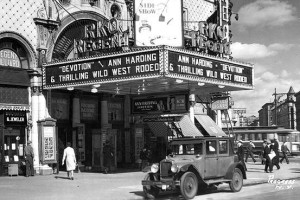 une 26, 1896: first movie theater opens in u.s. -- charges $0.10 vs. today at $15. Credit: scoopnest.com