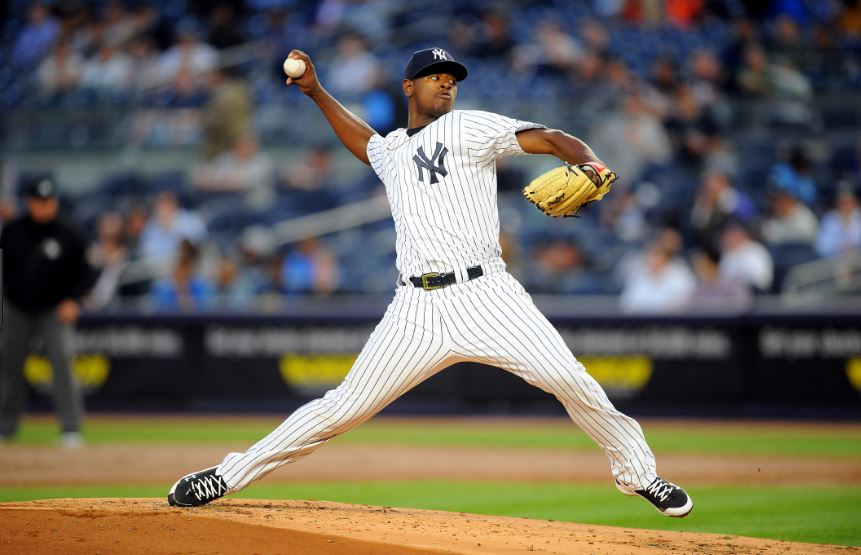 Luis Severino, NY Yankees. Credit: nysportsday.com