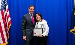 Senator Klein Honors Community Leader Antonia Figueroa at Annual New York State Women of Distinction Celebration