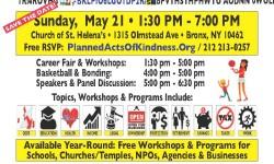 Bronx American-Hispanic Community Partnership Summit on Sunday, May 21st