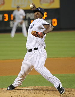 NY Yankees pitcher Luis Severino. Credit: Wikipedia