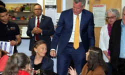 Mayor Ends Week in Bronx with Visit to Bronx House, Orchard Beach