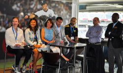 The Positive Coaching Alliance and the New York Yankees honored five incredible youth and high school athletic coaches Tuesday evening at Yankee Stadium. Credit: PCA - NY
