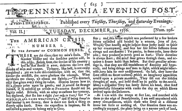 Pennsylvania Evening Post