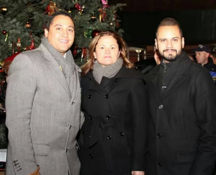 Assembly Member Robert J. Rodriguez, NYC Council Speaker Melissa Mark Viverito, and NYS Senator Jose Serrano. (NYS Assembly)