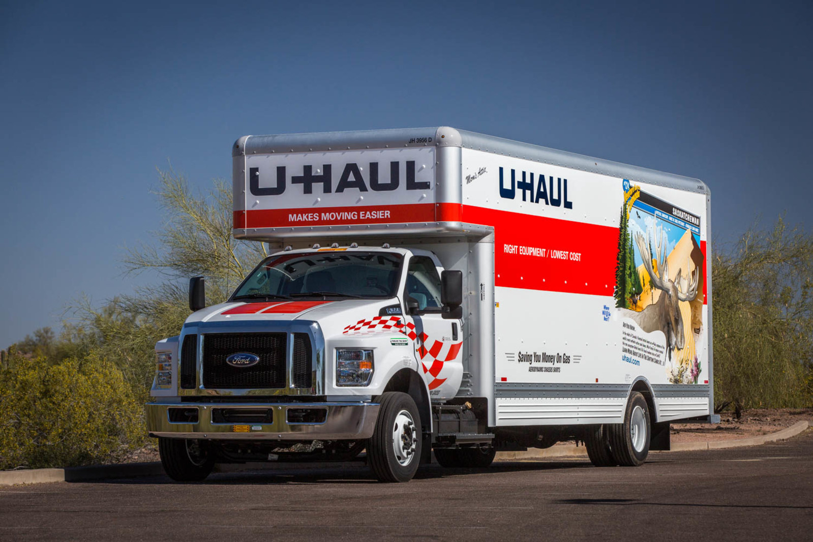 Houston remains the No. 1 U-Haul U.S. Destination City for the eighth year in a row, according to the latest U-Haul migration trends report. (PRNewsfoto/U-Haul)