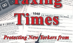 Federal Tax Proposal Could Cost Homeowners $21 Billion More in Taxes; Senator Carlucci & IDC Step Up to Protect Taxpayers in 'Taxing Times'