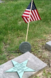 The grave of Philip W. Scheu who was killed in action during World War l on Oct. 11, 1918. Photo by David Greene