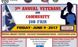 3rd ANNUAL VETERANS AND COMMUNITY JOB FAIR FRIDAY, JUNE 9th (11am-3pm)
