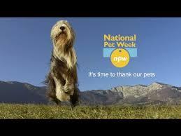 Welcome to National Pet Week®!  www.petweek.org