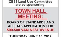 Van Nest Neighborhood Alliance Town Hall Meeting: June 15th