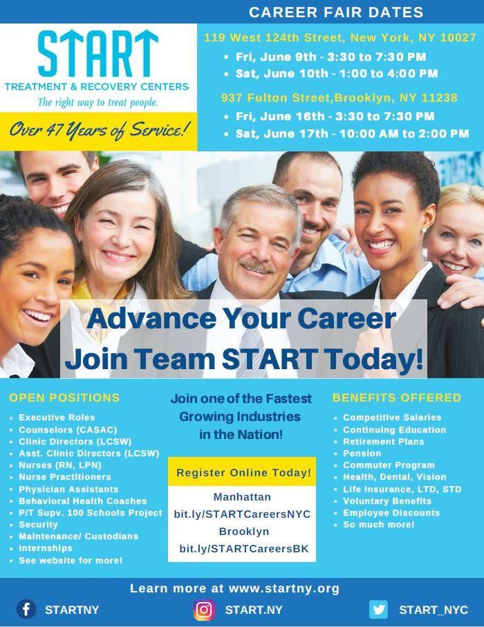 START Treatment & Career Fair