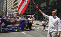 BP DIAZ MARCHED IN NATIONAL PUERTO RICAN DAY PARADE