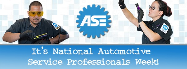 What began as National Automotive Service Professionals Day in 2005 has now expanded into a week-long celebration, honoring automotive service professionals.