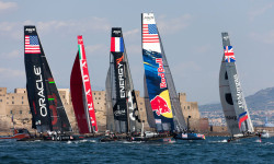 04/15/2013 - Napoli (ITA) - America's Cup World Series Naples 2013 - Free training Day 2 (Credit: Americas Cup)