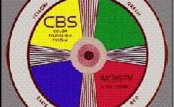 CBS was first to broadcast what was known as NTSC color television, but not was the first to broadcast color.