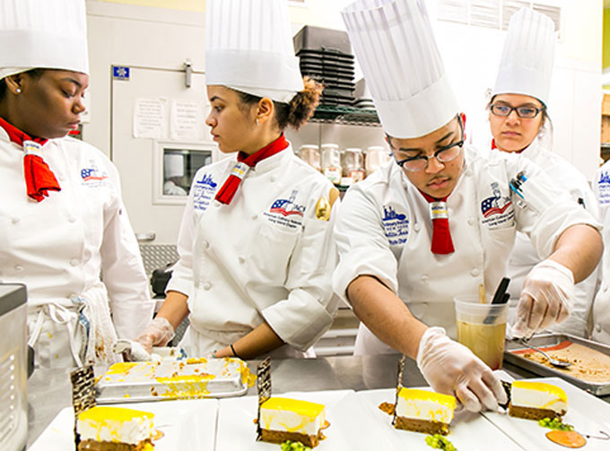 The Culinary Insute Of New York At Monroe College Wins Top Team And Individual Les