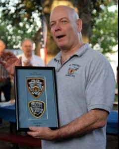 "NYPD Chief of Patrol Terry Monahan thanked the former ""Fort Apache"" cops who trained him in the South Bronx. Photo by David Greene"