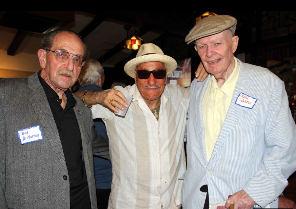 At the annual Fort Apache reunion are (l-4): Robert DeMartino, Ralph Squillante and Tom Walker. Photo by David Greene