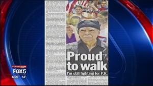 Oscar López Rivera breaks his silence. Fox 5 NY
