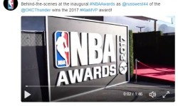 FIRST ANNUAL NBA AWARD SHOW