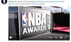 FIRST ANNUAL NBA AWARD SHOW