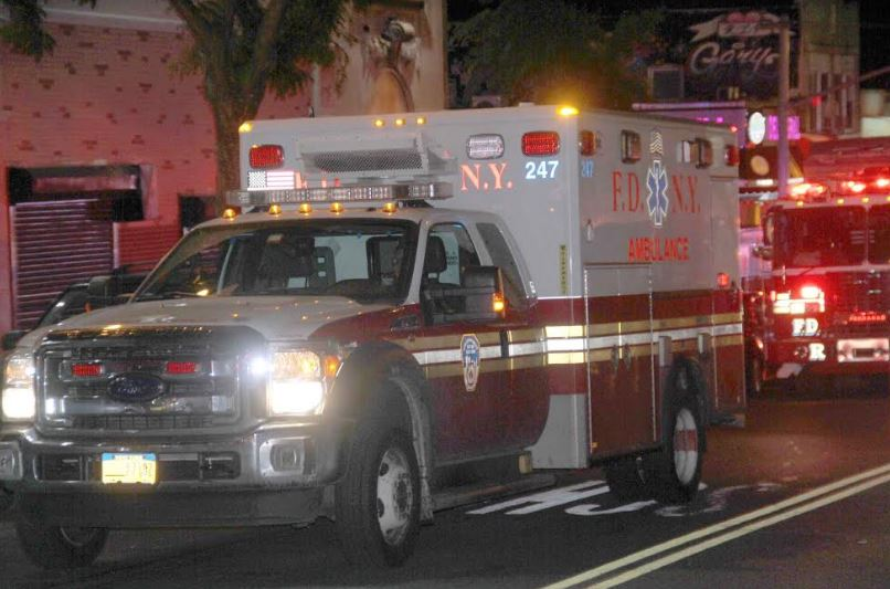 EMS transported 7 victims, including 4 children to area hospitals. Photo by David Greene